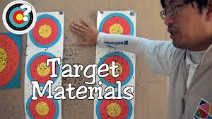archery target materials youtube