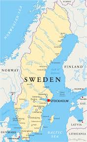 map of sweden map of sweden guide of the world