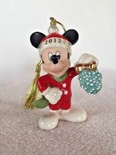 lenox mickey mouse ornament ebay