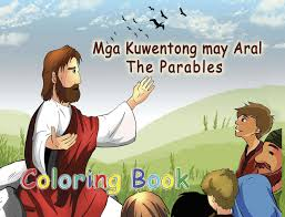 philippine bible society coloring book the parables tagalog