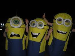 Despicable Minion Costume Minion Costume Children Halloween Fancy