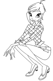 Winx Club Coloring Pages 360coloringpages Winx Club Musa Coloring Pages