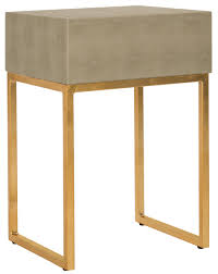 Modern Side Table Fox6289a Accent Tables Furniture By Safavieh