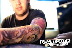 beartooth caleb shomo talks about his tattoos bmth tour 2015