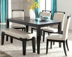 black contemporary dining table contemporary dining room sets with benches contemporary dining room