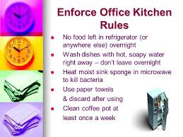 Bacteria In Kitchen Sink - preventing the spread of germs colds and flu around the workplace