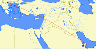 Doha Map Qatar Airways Adds Another Greek City To Its Route Map