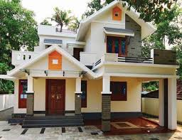 colonial home designs design of colonial house of two floors three bedrooms and 154