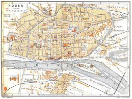 map of rouen rouen map comparisons