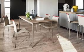 Contemporary Dining Table Contemporary Dining Table Wooden Metal Melamine Dot By