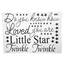 aliexpress com buy pvc wall sticker quote kids room twinkle aliexpress com buy pvc wall sticker quote kids room twinkle twinkle little star wall poster nursery art decal home decor from reliable home decor