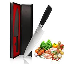 dishwasher safe kitchen knives amazon com colho 8 inch chef knife dishwasher safe ergonomic g10