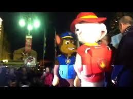 sorrento paw patrol festa accensione dell u0027albero