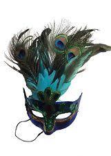 peacock masquerade masks peacock masquerade mask ebay