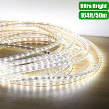 Led Strips Light by 110v Daylight White Led Strips Waterproof Outdoor Christmas