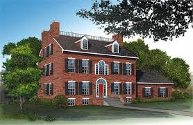 Georgian Style Home Plans Colonial Home Designs Paul Revere U0027s House