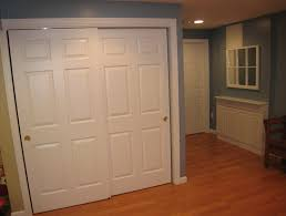 Wood Closet Doors Closet Closet Doors Lowes For Best Appearance And Performance