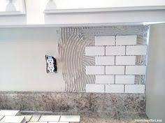 How To Do A Backsplash In Kitchen How To Install A Kitchen Backsplash The Best And Easiest