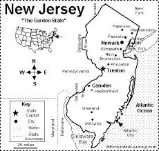 map of new york enchanted learning 15 best nj images on geography new jersey and 50 states