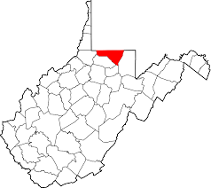 Virginia Regions Map by Monongalia County West Virginia Wikipedia