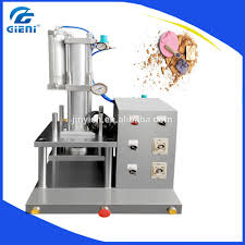 zl lab manual cosmetic powder compact press machine for powder