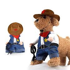 Cowboy Halloween Costumes Coat Short Gomaomi Pet Dog Cat Costume Cowboy Jeans Hoodie Shirts
