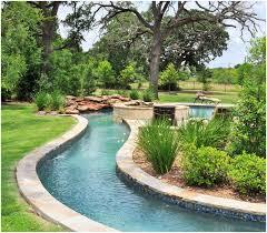 backyards wonderful lazy river in your backyard 121 texas