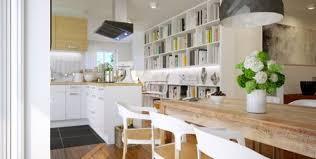 sol cuisine ouverte une cuisine ouverte sur le salon