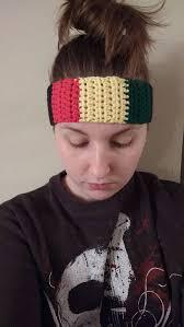 keith richards headband keith richards inspired rasta headband festival