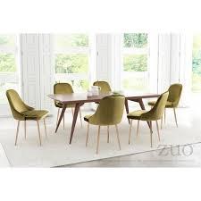 Single Dining Room Chair Merritt Green Velvet And Brushed Gold Finished Steel Upholstered
