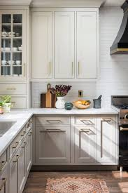 white and taupe lower kitchen cabinets 75 beautiful kitchen with beige cabinets pictures ideas