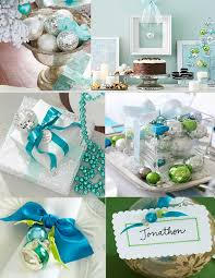 blue and silver holiday decorating ideas white christmas