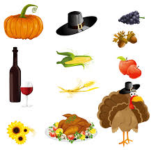 thanksgiving day icons vector free vector graphic