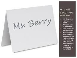 Name Tag On Desk Ppt Body Image Set Point Theory U0026 Body Types Powerpoint
