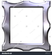 3d silver frame stock illustration 5436394 shutterstock