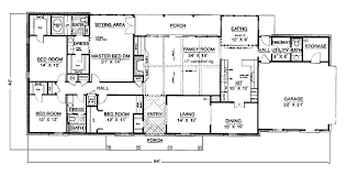 4 bedroom single story house plans one story 4 bedroom house plans interior design