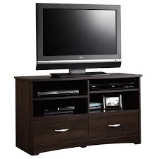 Black Tv Cabinet With Drawers Beginnings Tv Stand 413045 Sauder