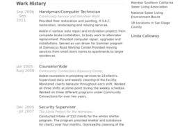 Resume Sample For Cleaner by Handyman Resume Samples Full Size Of Resumesample Cv Template