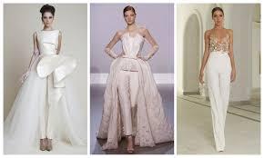 wedding dress jumpsuit comfort feel wedding pantsuit ideas weddceremony