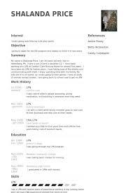 Sample Resume For Lvn lvn resume template billybullock us