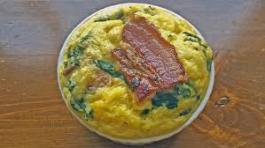 Bacon Toaster Toaster Baked Grits With Bacon And Spinach Recipe