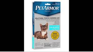 petarmor flea and tick squeeze on cats and kittens 8 weeks or over