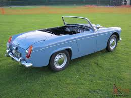 mg midget ice blue only 20 000 miles