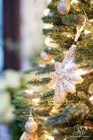silver and gold christmas front porch randi garrett design