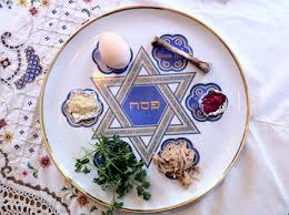 what is on a passover seder plate large passover seder plate bunny ears