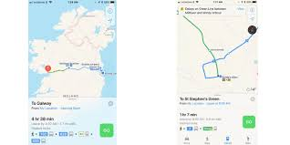 Dublin Ireland Map Apple Maps Now Offers Public Transit Directions For Ireland 9to5mac
