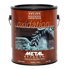 modern masters 1 gal metal effects oxidizing iron paint me208gal