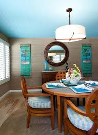Tropical Dining Room Furniture Blue Dining Rooms 18 Exquisite Inspirations Design Tips