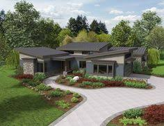 w3149 affordable modern 4 bedroom house plan 2 family rooms