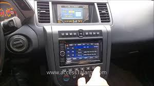 nissan altima 2005 radio fuse 2003 2007 nissan murano kenwood 2 din radio install youtube